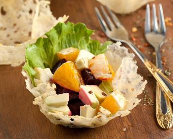 Classic Apple Salad with Blue Cheese - Canuel Caterers Market