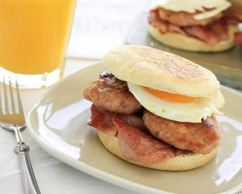 Breakfast Sandwich - Canuel Caterers